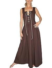 MAYLYNN Mittelalter Kleid Kostüm Überkleid DEFEKT Magd Bäuerin Wirtin Celia - Baumwolle -