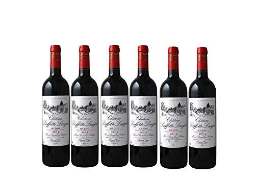 CHATEAU LAFFITTE LAUJAC - Grand Vin Rouge Bordeaux - Cru Bourgeois in 1932- AOP Médoc 2016-6 bottles Pack