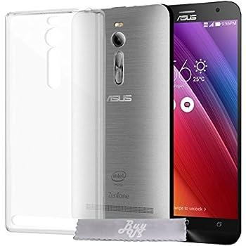 "Coque Gel transparent INVISIBLE Asus ZenFone 2 (Z5551ML/ZE550ML) 5.5"" + Stylet + 3 Films OFFERTS"
