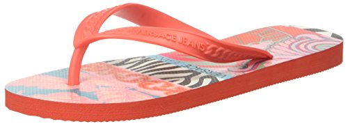Versace Jeans Ee0vpbsh1_e77201, Infradito Donna Rosa (Fucsia)