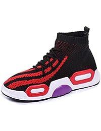 81d965cc6ad99 DAMENGXIANG Primavera Otoño Sock Sneakers Mujer Moda Elasticidad  Transpirable Zapatillas Slip En Hip Hop Calcetines Zapatos