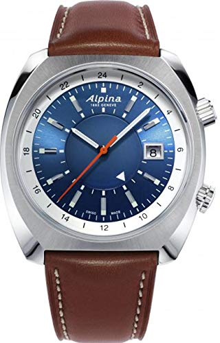 Alpina Schweizer Automatikuhr Startimer Pilot Heritage AL-555LNS4H6