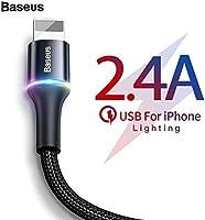 Baseus Halo Lightning 1.5A 2m. Kablo, Siyah