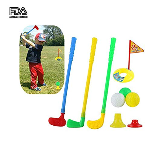 Marilia Intelligente gesunde Kinder Golf Club Set Outdoor Indoor Plastikspielzeug