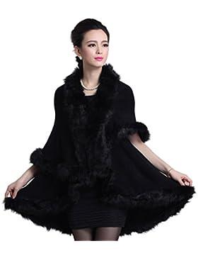 Alovemi - Abrigo - capa - para mujer