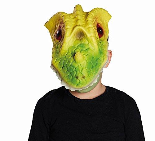 (Mottoland Kostüm Zubehör Kinder EVA Maske Dinosaurier Dino Karneval Fasching)