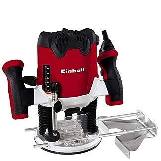 Einhell RT-RO 55 Fresadora, 1200 W, 230 V, control electrónico, profundidad de fresado regulable, Gris y Rojo (ref. 4350490)