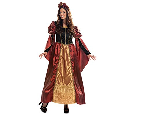 My other me - queen costume barocco lusso, dimensioni ml (vivation costumi mom01249)