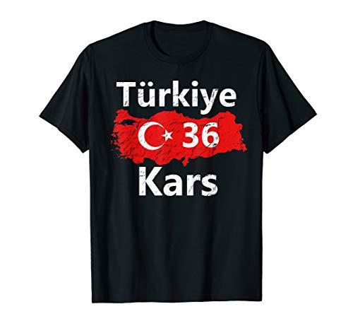 Türkei 36 Kars T-Shirt Ayyildiz Türkiye Tshirt Geschenk - Kars Türkei