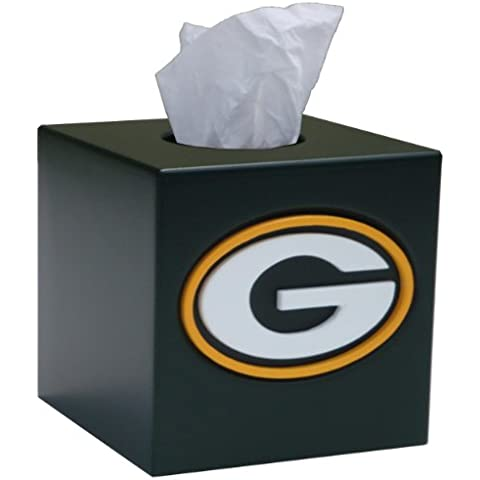 NFL Tissue Box Cover NFL Team: Green Bay Packers by Fan Creations