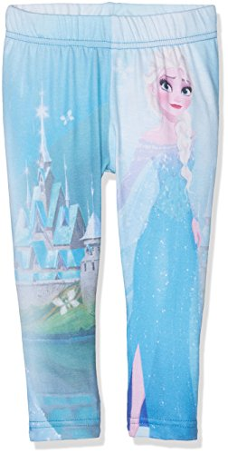 Disney fzsp27201, leggings bambina, blu (multi), 4 anni
