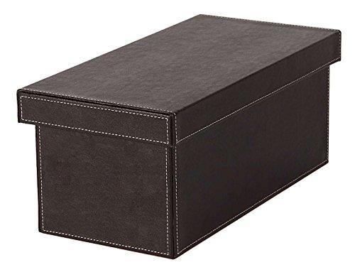 Osco Kunstleder CD Box, braun (Home-office-einreichung)