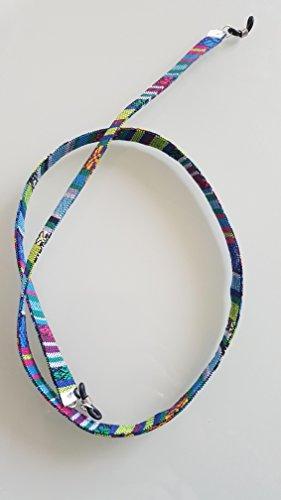 cinta-cordon-para-gafas-estampado-etnico-azteca-plano-azul-ii