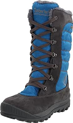 Timberland Women's Mount Holly Tall Duck Knee-High Boot,Dark Grey/Blue,8.5 M US