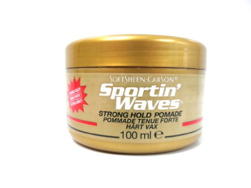 SoftSheen Carson Sportin Waves Strong Hold Pomad 100ml