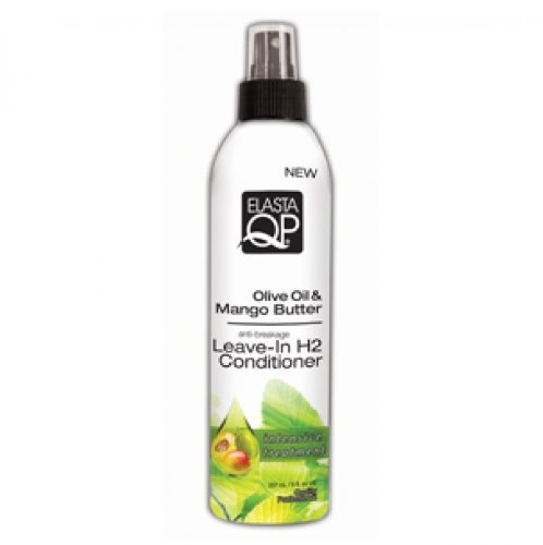 Elasta QP Olive Oil & Mango Butter Leave-In H2 – Hair Conditioners (mixte, Professional, Moisturizing, Smoothing, Softening, Mango, olive oil)