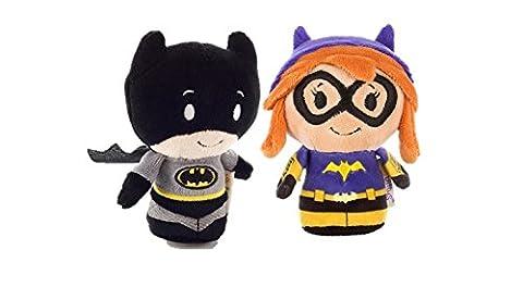 Batman and Bat Girl DC Comics Set of 2 Itty