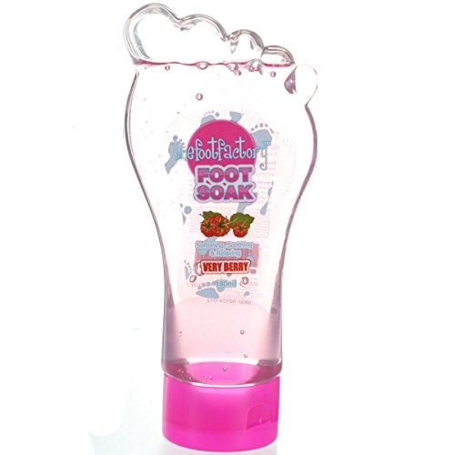 The Foot Factory, Very Berry Foot Soak: jabón para pies de 180 ml