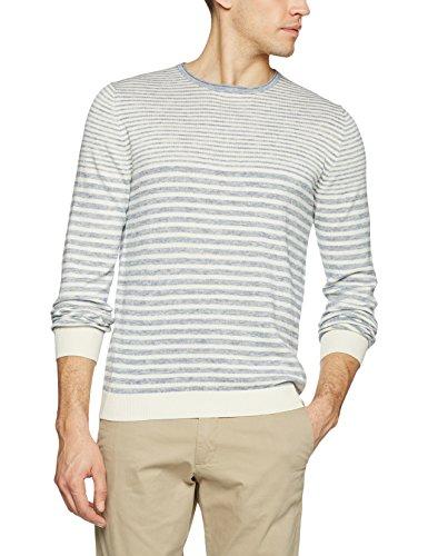 Celio Herren Pullover Geyacht Weiß (Off White)