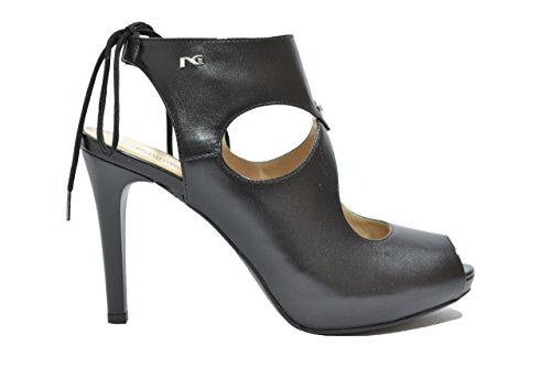 Nero Giardini Decollete' spuntata nero 7371 scarpe donna elegante P717371DE 39