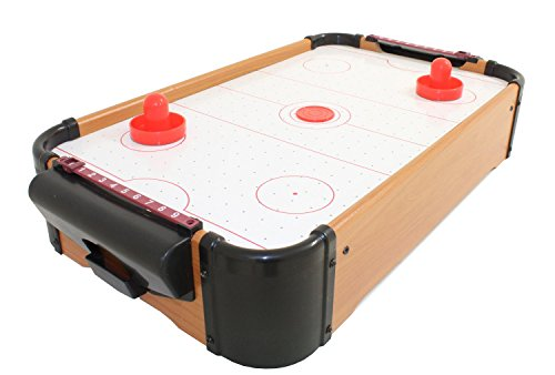 Electric Home Table Top Air Hockey Family Game Pucks Paddles