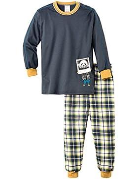 Calida Jungen Zweiteiliger Schlafanzug Pyjama Bündchen Happy Foto