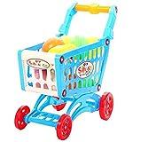 Premium Einkaufswagen für Kinder mit extra viel Inhalt - Kaufladen Laden Einkaufskorb Shopping Bag Supermarkt Spiel Familienspiel mit hohem Spaßfaktor wie Kroko doc