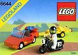 LEGO 3368?628?City Space Center und Bügeleisen von Asphalt - LEGO