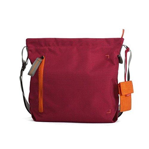 """Crumpler Doozie Photo Shoulder S DZPS-S-010 Kameratasche mit 9,7\"""" Tabletfach inkl. hrausnehmbarer Kamera Einsatztasche Rot / Orange"""
