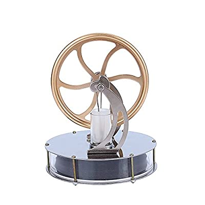 Low Temperature Stirling Engine Motor Steam Heat Education Model Toy Kits by Yosoo