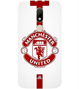 Football Printed Back Cover for Moto M