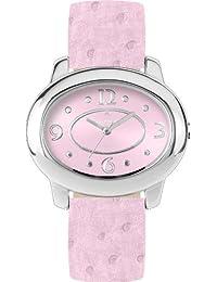Alpha Saphir XXX - Reloj de mujer de cuarzo, correa de piel color rosa