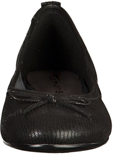 Tamaris 1-22124-27 femmes Ballerine Noir