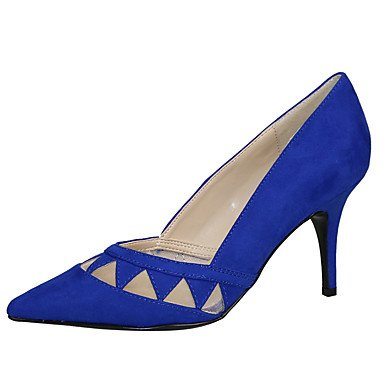Moda Donna Sandali Sexy donna tacchi Primavera / Autunno T-Cinturino Tessuto / Tulle Wedding / Party & sera abito / Stiletto Heel Split JointBlack / Black