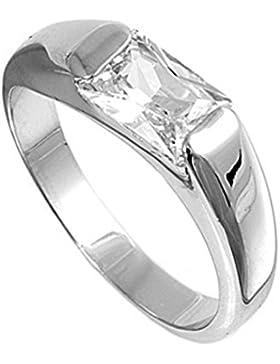 Ring aus Sterlingsilber mit Zirkonia