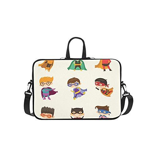er Muster Aktentasche Laptoptasche Messenger Schulter Arbeitstasche Crossbody Handtasche Für Geschäftsreisen ()