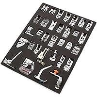 vhbw Set de pies de Costura de 32 Piezas de Recambio para máquinas de Coser por