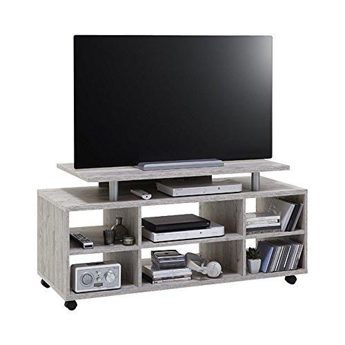 FMD Möbel Variant 21 TV/Hifi-Regal, Holz, sandeiche, 118 x 50 x 57 cm (50 Tv-element)