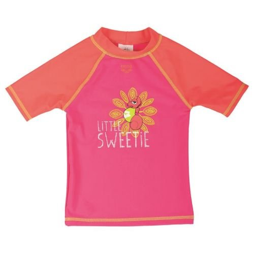 Arena Water Tribe UV T Shirt, Rose, 2/3 anni