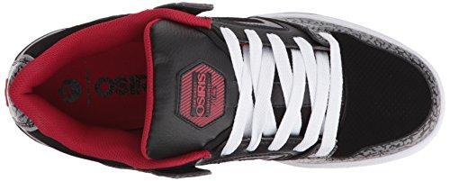 Osiris PXL Synthétique Chaussure de Basket Black-Red