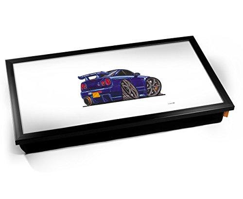 nissan-skyline-gtr-car-caricature-laptop-tray