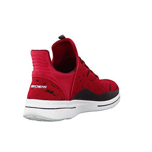 SKECHERS NEW AVENUES 12656/RDBK adulte (homme ou femme) Chaussures de sport Rot (Rdbk)