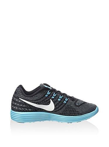 hot sales 98095 0ba6e ... clearance joggesko grå 2 trening lunartempo kvinnelige wmns blk gamma  azul nike blå blå blå hvit