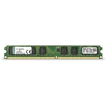 Kingston Mémoire 2 Go DIMM 240 broches DDR2 800 MHz / PC2-6400 CL6 mémoire sans tampon NON ECC