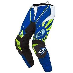 O'NEAL Element Zen MX DH MTB Pant Hose lang blau/grün 2019 Oneal: Größe: 36 (52)