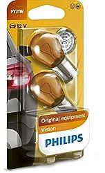 Philips 12496NAB2 Kugellampe Vision PY21W