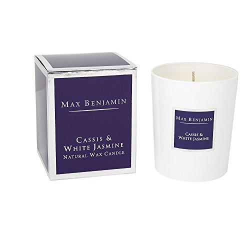Max Benjamin Cassis et bougie parfumée au jasmin blanc