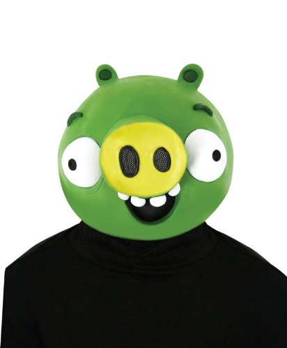 Paper Magic Angry Birds Minion Pig Latexmaske (Creepy Pig Maske)