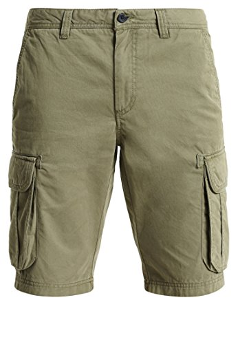 Pier One Herren Shorts in Olivgrün, 33