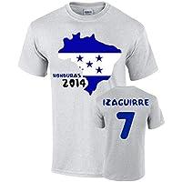 Honduras 2014 Country Flag T-shirt (izaguirre 7)
